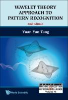 Wavelet Theory Approach to Pattern Recognition