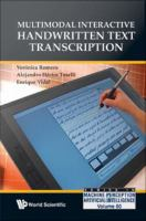 Multimodal Interactive Handwritten Text Transcription