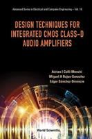 Design Techniques for Integrated CMOS Class-D Audio Amplifiers