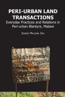 Peri-urban Land Transactions