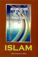 Misconception on Human Rights in Islam