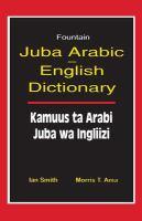 Juba Arabic-English Dictionary