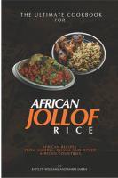 The Ultimate Cookbook for African Jollof Rice