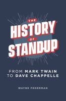 History Of Stand Up