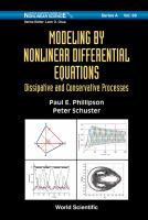 Modeling by Nonlinear Differential Equations