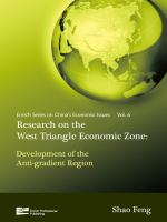 Research on the West Triangle Economic Zone