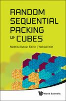 Random Sequential Packing of Cubes