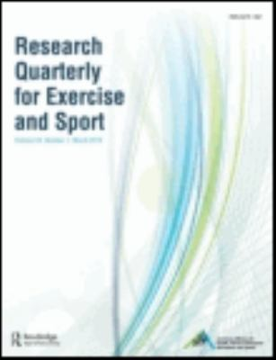 Research Quarterly for Exercise and Sport (Current) Book Cover