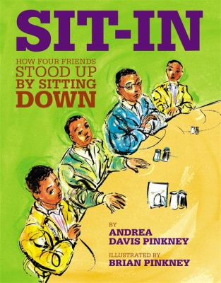 Cover image for Sit-in : how four friends stood up by sitting down