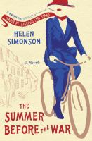 Cover image for The summer before the war :