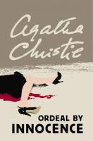 Cover image for Ordeal by innocence