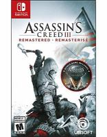 Cover image for Assassin's creed III remastered.