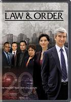 Law  order. The twentieth year, 2009-2010 season