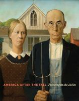 America after the fall : painting in the 1930s