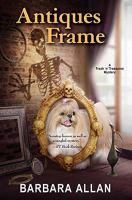 Antiques frame : a trash 'n' treasures mystery