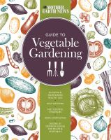 Guide to vegetable gardening