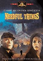 Needful things  Columbia Pictures ; Castle Rock Entertainment in association with New Line Cinema ; producer, Jack Cummins ; screenplay, W.D. Richter ; director, Fraser C. Heston