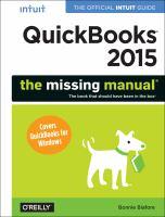 QuickBooks 2015 : the missing manual