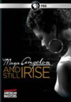 American masters. Maya Angelou, and still I rise