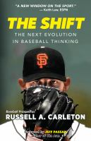 The shift : the next evolution in baseball thinking