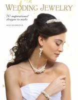 Wedding jewelry : 30 inspirational designs to make