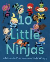 Cover image for 10 little ninjas