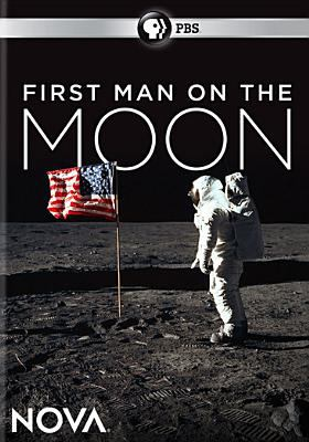 Cover image for First man on the moon