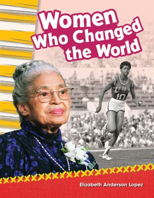 Cover image for Women who changed the world