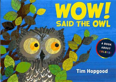 Cover image for Wow! said the owl