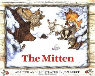 Cover of The Mitten by Jan Brett