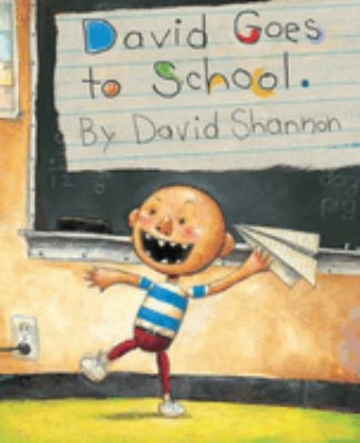 Cover image for David goes to school