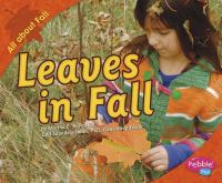 Cover image for Leaves in fall
