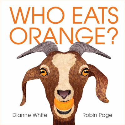 Cover image for Who eats orange?