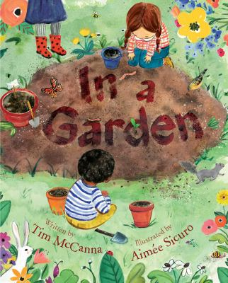 Find In a Garden picture book in the catalog