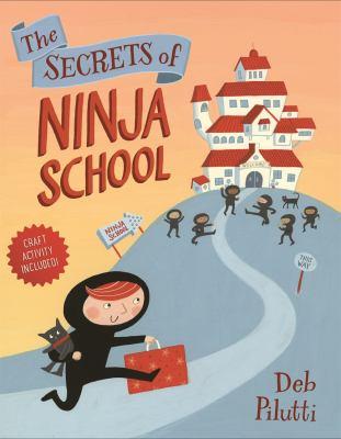 Cover image for The secrets of ninja school