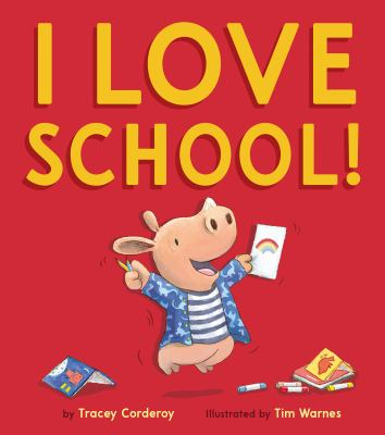 Cover image for I love school!