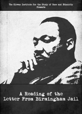 Cover image for A reading of the Letter from Birmingham Jail [DVD]
