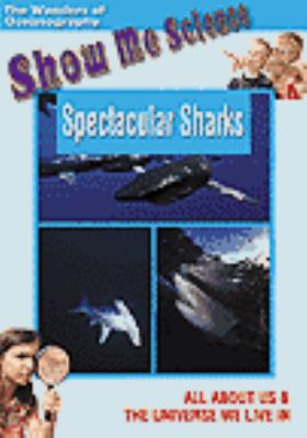 Cover image for Spectacular sharks [DVD]