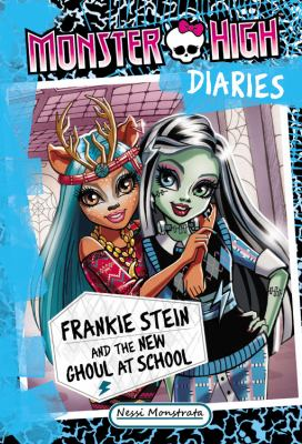 Cover image for Frankie Stein and the new ghoul at school