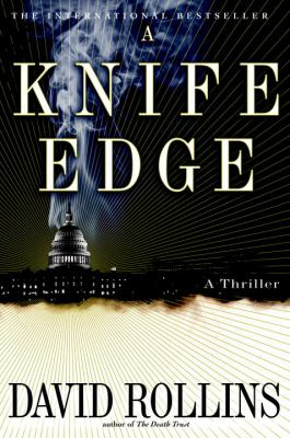 Cover image for A knife edge