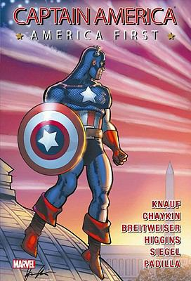 Cover image for Captain America : America first