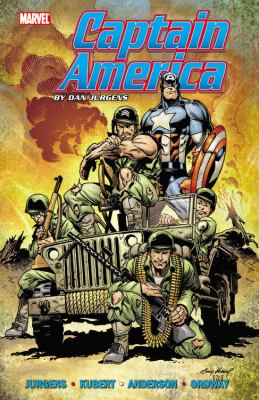 Cover image for Captain America by Dan Jurgens