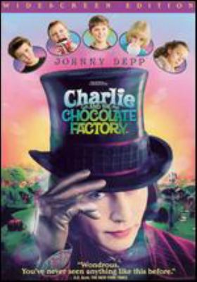 Cover image for Charlie and the chocolate factory [videorecording (DVD)]