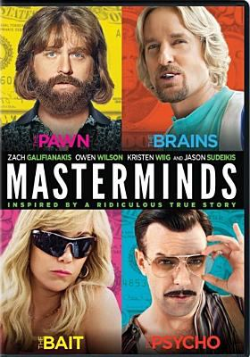 Cover image for Masterminds [videorecording (DVD)]