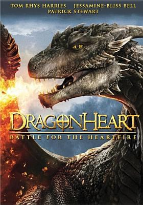 Cover image for Dragonheart: battle for the heartfire [videorecording (DVD)]