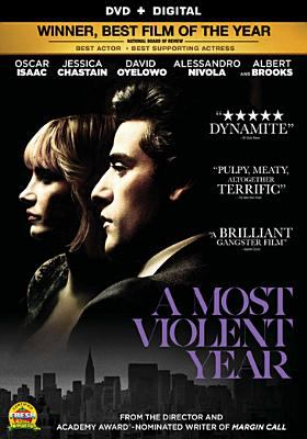 Cover image for A most violent year [videorecording (DVD)]
