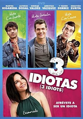 Cover image for 3 idiotas [videorecording (DVD)]