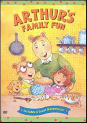 Cover image for Arthur's family fun [videorecording (DVD)]