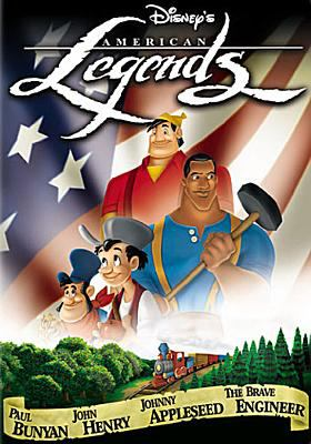 Cover image for American legends [videorecording (DVD)]
