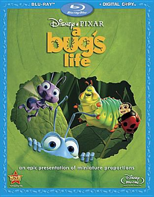 Cover image for A bug's life [videorecording (BLURAY)]